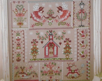 Chart CHRISTMAS in QUILT - Hardcopy or PDF format