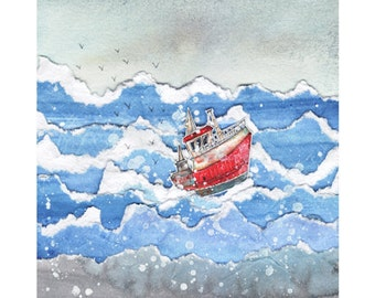 The Trawler - Signed Limited Edition Print