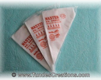 "2x100 Disposable pastry bag - ""tipless"" bag"