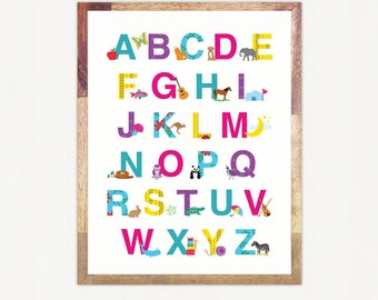 Alphabet Print for Download - Personal Use