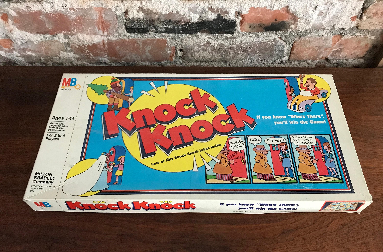 zoom 1982 Milton Bradley Knock Knock Board