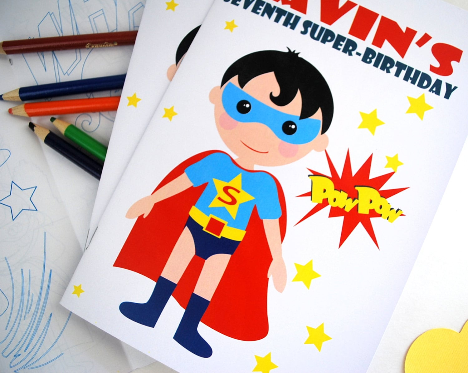 Super Hero Coloring Books 6 coloring books SuperHero