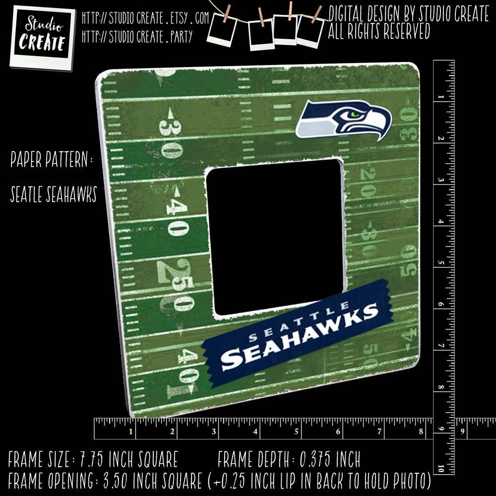 Picture frame seattle seahawks photo frame instagram frame sold by studiocreate jeuxipadfo Choice Image