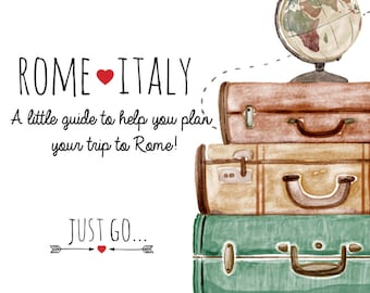 Rome Italy Guide, PDF zine, A5, Travel guide, Trip to Italy, Rome, download PDF, adventure, europe, Italy guide, easy trip,vacation