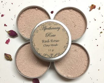 Red Rose Clay Mask