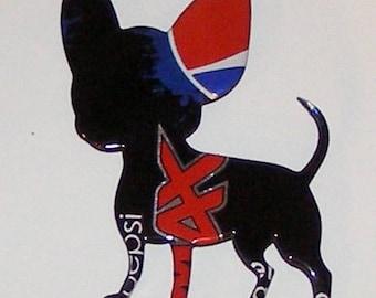 Chihuahua Magnet - Pepsi MAX Soda Can (Replica)