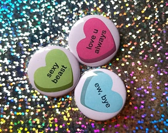 Sweet & Sassy Candy Hearts