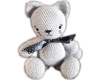 Amigurumi Pattern Crochet Cat