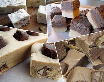 Homemade Fudge, Party Food, Fudge, Candy, Homemade Candy, Chocolate Fudge, Peanut Butter Fudge, Nut Fudge