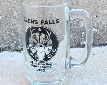 Vintage 1983 Glens Falls NY Bowling Mug - 2 in stock