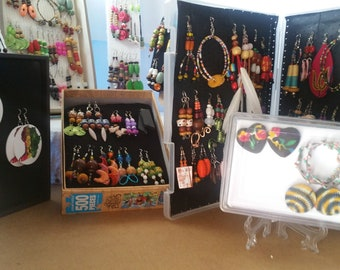 African  Women  Earrings