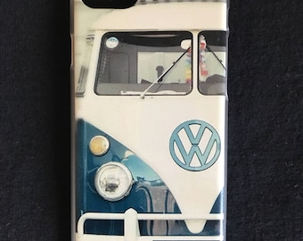 Plastic VW Bus cell phone cover