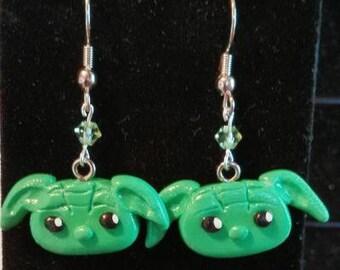 Yoda Earrings