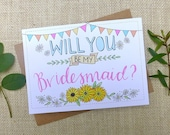 Will You Be My Bridesmaid...