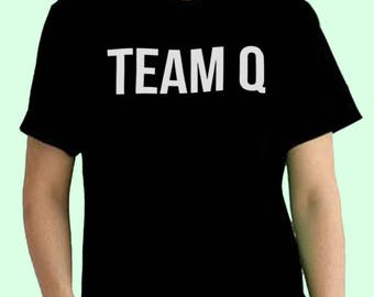 Team Q Impractical Jokers TV Show Inspired. Male and Female T-shirt