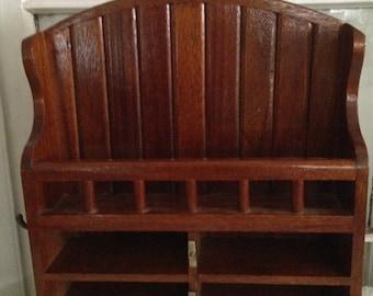 Wood Wall shelving, Ready to hang Home Decor, Kitchen, Bathroom, Man Cave, Storage Barware