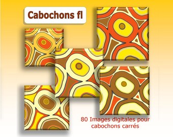 Digital images for round cabochons wax patterns