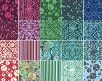 Amy Butler True Colors   Free Spirit   Quilt Fabric   Precuts   Fabric Bundle   Fat Quarters   Jelly Roll   Quilting
