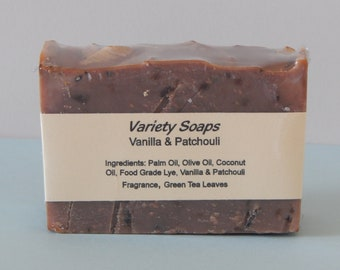 Vanilla & Patchouli Soap