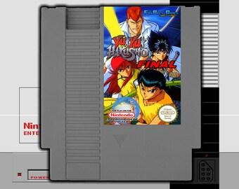 "IN STOCK! ""Yu Yu Hakusho Final"" Unreleased Nintendo NES Fighting Game!"