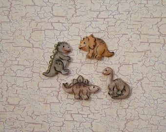 Mini Dinosaurs set of 4
