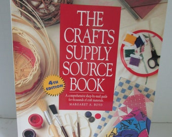The Craft Supply Source Book How to wholesale Craft Products Craft Supplies Source Wholesale Crafts Supplies Where to Wholesale Vendors