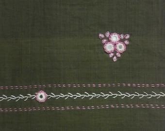 Bottle green blouse piece No. 2- BLS12_BTGR