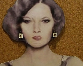 Authentic Garnet Earrings handmade Original Garnet handmade earrings, silver garnet earrings,garnet handmadesterling earrings