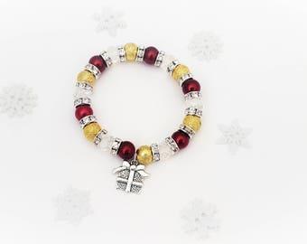Gift Bracelet, Christmas Bracelet, Present Jewelry, Stocking Filler For Kids, Stocking Stuffer, Xmas Jewelry, Christmas Present, Gift Idea