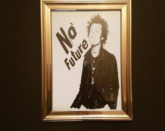 Sid Vicious 'No Future' Print