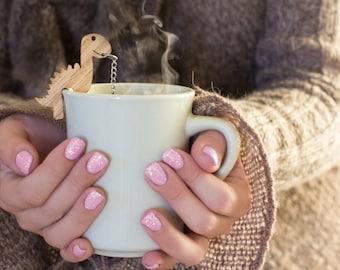Tea Buddy™ Rawr Tea Infuser| dinosaur tea steeper with mesh ball, gift for him, tea strainer for loose leaf tea, tea time,