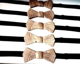 Handmade Olive bow Tie