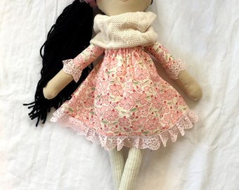 Flower Love Handmade Doll