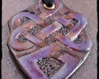 Royal Warrior Spirit Knot Amulet