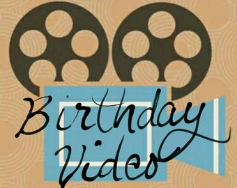 Birthday Music Video - From Photos or Video