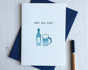 Father's Day Card - Best. Dad. Ever.