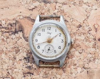 Vintage wrist watch USSR. Men's watch Svet (Light) (Свет). Raketa. Mechanical watch. Watch factory PChZ. Soviet watch. Made in USSR