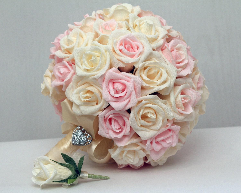 Wedding Bouquet Paper Bridal