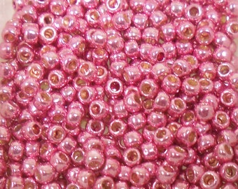 Toho Seed Bead Size 8 Galvanized Rose Permanent Finish 20gr 21779
