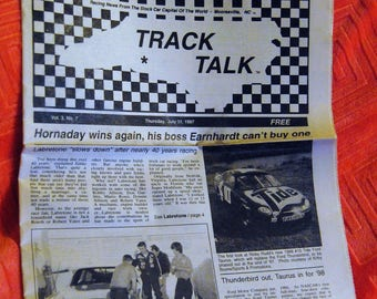 1997 Racing News (July) from Mooresville, NC The Stock Car Capital of the World