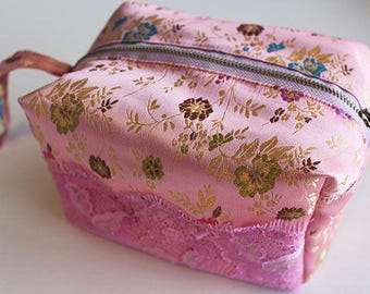 Small zipper bag pattern, zipper bag pattern, box pouch pdf pattern, box pouch, cosmetic pouch, small pouch bag pattern,