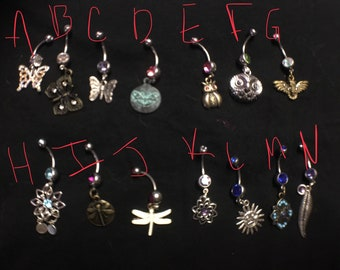 Belly Rings, 316L Surgical steel, body jewelry