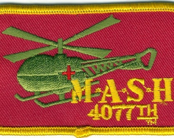 Aviation Viet Nam MASH Patch Embroidered Patch Gold button MASH