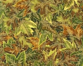 Cotton Fabric Quilting Robert Kaufman Shades of the Season - Fall *