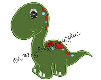 Dinosaur Applique Design