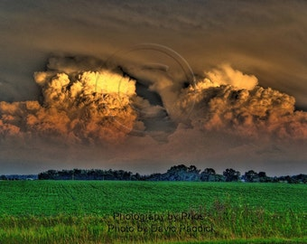 Tale Of Two Storms Fine Art Photograph