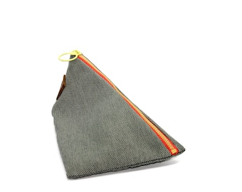 Triangle pouch, Pencil case, Makeup organizer