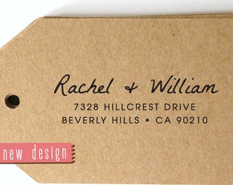CUSTOM pre inked address STAMP from USA, custom address stamp, pre inked custom address stamp, return address stamp with proof - Stamp b5-69