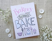 Bakers Gonna Bake- hand d...