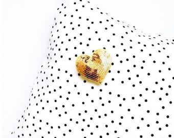 Black and White Polka Dot Pillowcases
